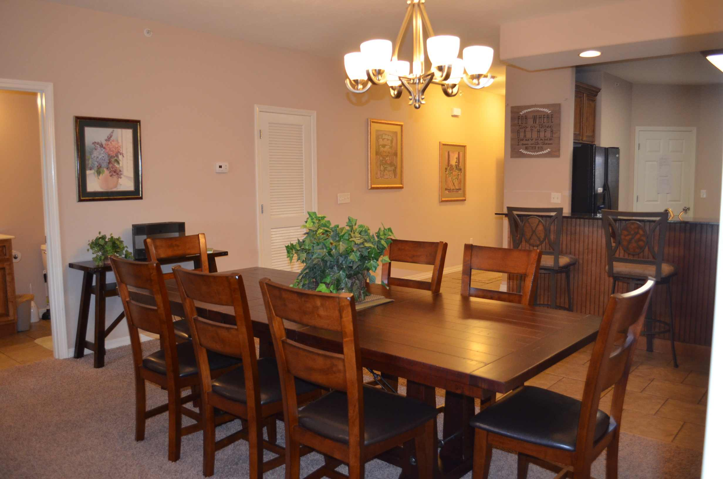 8 person dining table