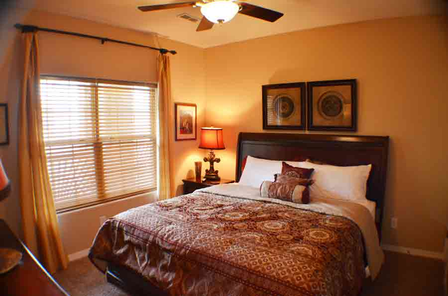 Second-bedroom-with-a-king-size-bed-at-this-resort-on-table-rock-lake-condo
