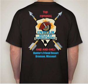 This is the design for the Indian Rally at Indian Point t-shirt.
