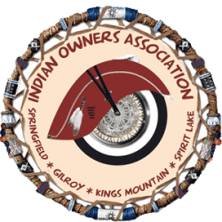 This is the logo for the Indian Owners Association.