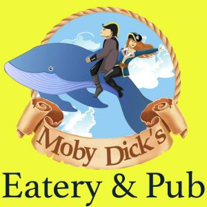 Logo for Mony Dick's Restaurant on Indian Point in Branson