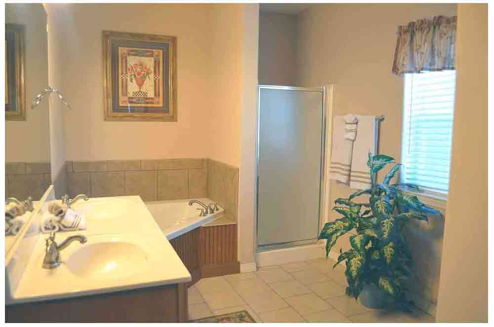 corner-jacuzzi-tub-with-stand-up-shower-rockwood-resort-condo-11 ...