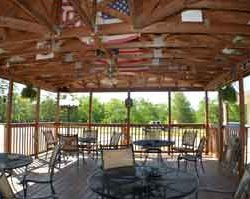 If you need a place to BBQ and hang out with your friends, our pavilion provides a great gathering spot. With 4 tables chairs and BBQ grills it is the best place to unwind and relax with your friends