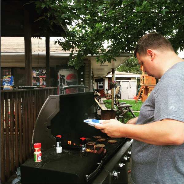 our BBQ grills go nonstop during the summertime. It is one of the highlights of any family vacation