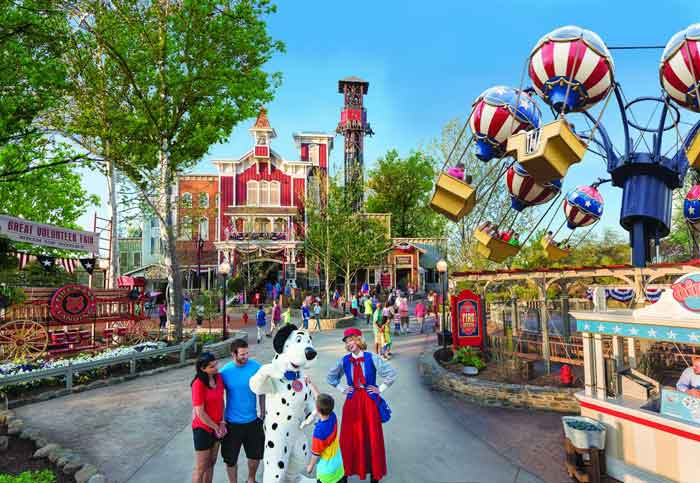 Firemans landing is a new addition and a huge hit to the park. Great rides for the kids and entertainment from cartoon characters