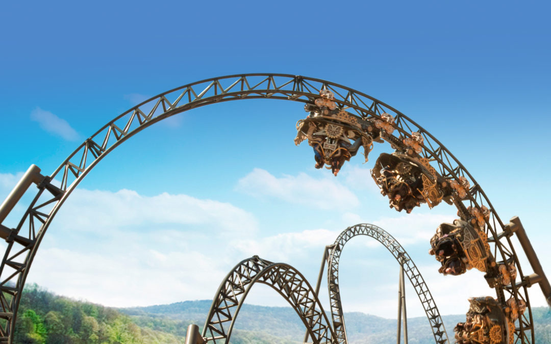 Built in 2018 Time Traveler did spectacular business for Silver Dollar City in its inaugural year of operation.